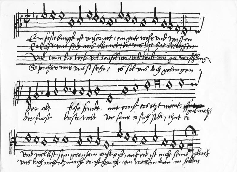 Die Reformation erfand auch die Musik in der Kirche neu